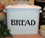enamelware bread bob